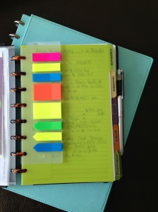 Sticky note dashboard of heaven