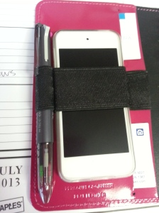 This is an iPod Touch standing in for an iPhone...but you get the idea