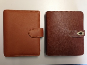 Van der Speck Senior Left, Mulberry Oak Agenda right